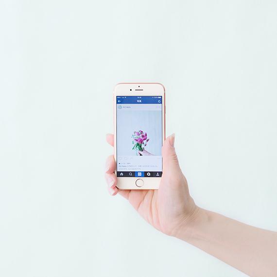 iPhoneで気軽にインスタっぽい花写真! アプリで簡単・おしゃれな写真の加工方法