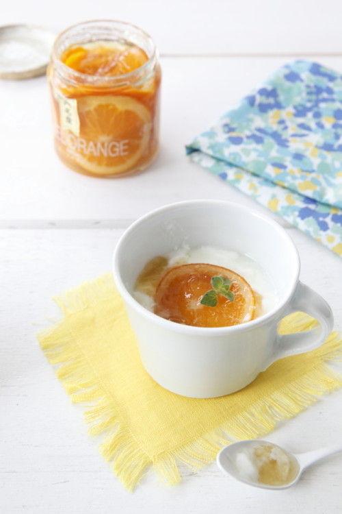 マーマレードとは一味違う! フレッシュなネーブルオレンジのスライス