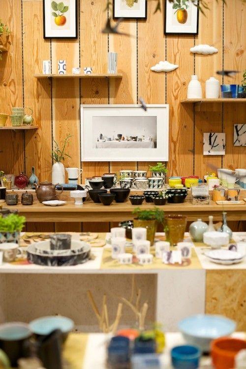 イデーショップ日本橋で、スウェーデンの陶芸家アーティスト集団「KAOLIN」展を開催中
