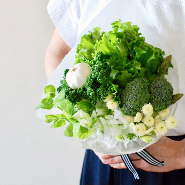 華やかで実用的! 飾って食べられる野菜ブーケの作り方