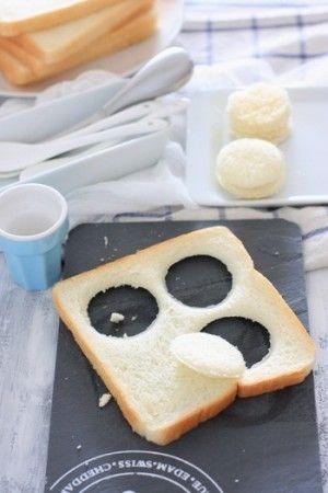 手づくりトロピカルジャムとふかふかパンでマカロン風サンド