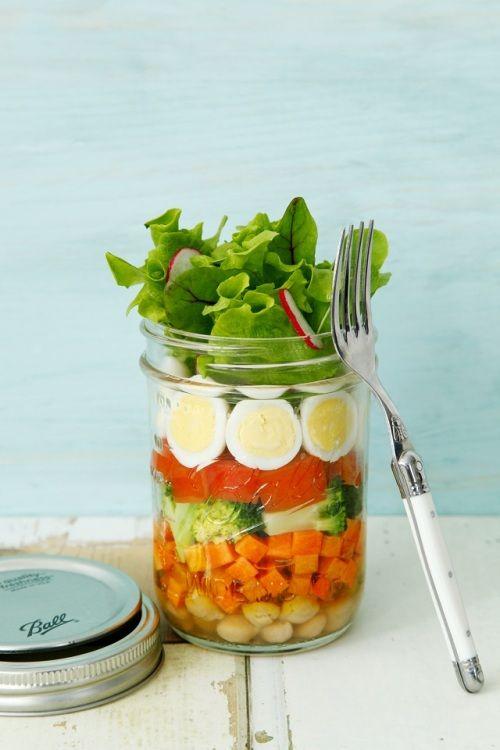 彩り鮮やか★美味しいジャーサラダを作ってみませんか?