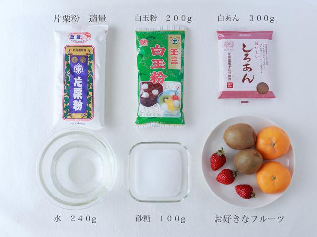 フルーツ 大福 いちご大福 作り方 レンジ 簡単