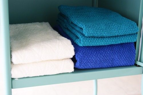 タオルのたたみ方を整えるだけ!ですっきり収納