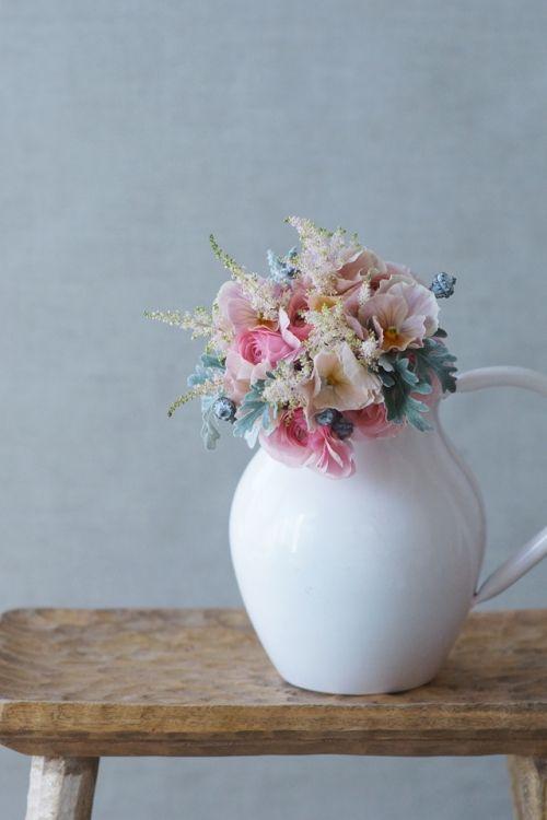 この春おすすめ! やさしい春色の花~ブラッシュピンク~