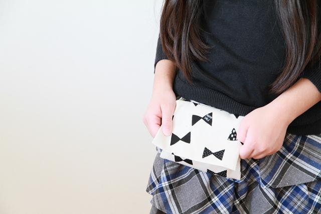 移動ポケット 作り方 ハンドメイド 小学生