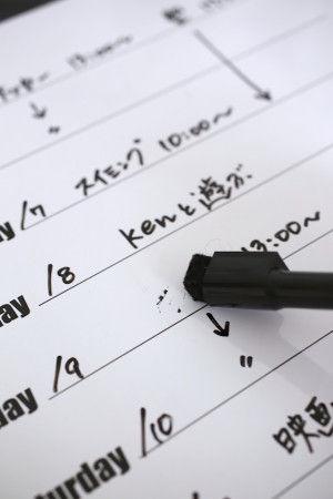 便利なのはペンのフタについているクリーナー。 書き間違いもささっと消すことができてストレスフリーです^^