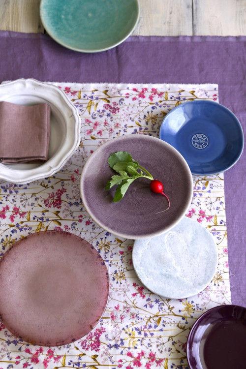 ボタニカル&ベリーカラーで楽しむ 初夏のテーブル