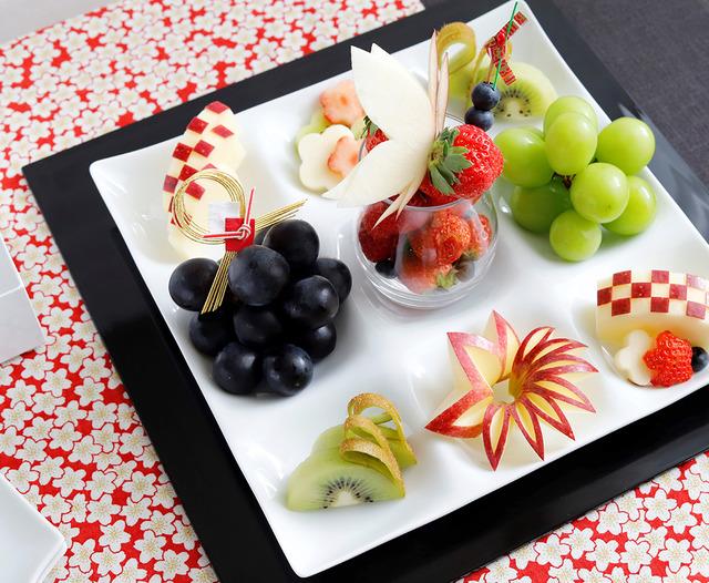フルーツのおせち