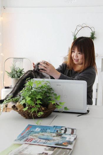 【Interview  file.4】 ヤノミサエさん (1) ~ 講座を開くためにDIYで作り上げたアトリエは、ピュアホワイトの空間