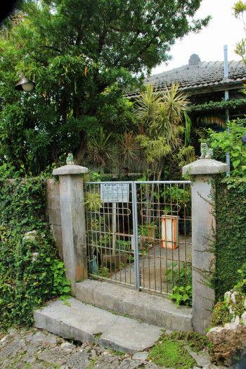 こちらは、NHKのドラマ 「ちゅらさん」で、 主人公の自宅外観として 使われたお宅です。