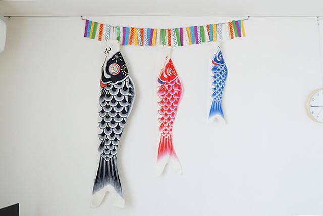 鯉のぼり 飾り方 マンション 壁に飾る