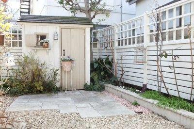 ガーデニングショップにデザインしてもらった庭