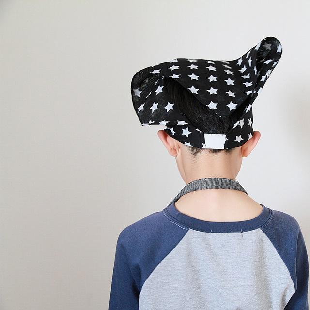 三角巾 子ども用 調理実習 クラフト ハンドメイド 100均