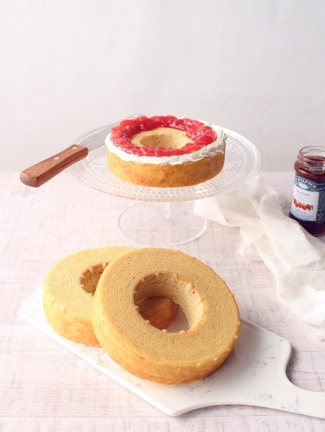 クリスマスケーキ ネイキッドケーキ 作り方 レシピ