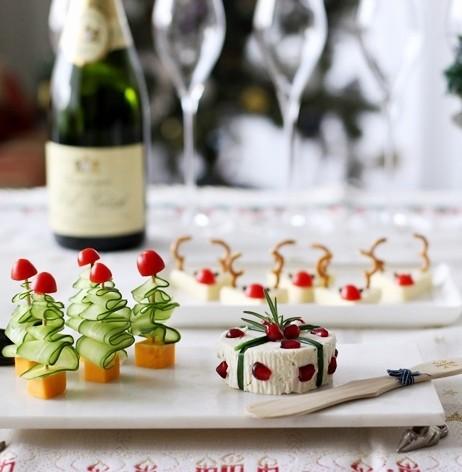 クリスマスパーティーに! 簡単豪華☆チーズオードブルの作り方3種