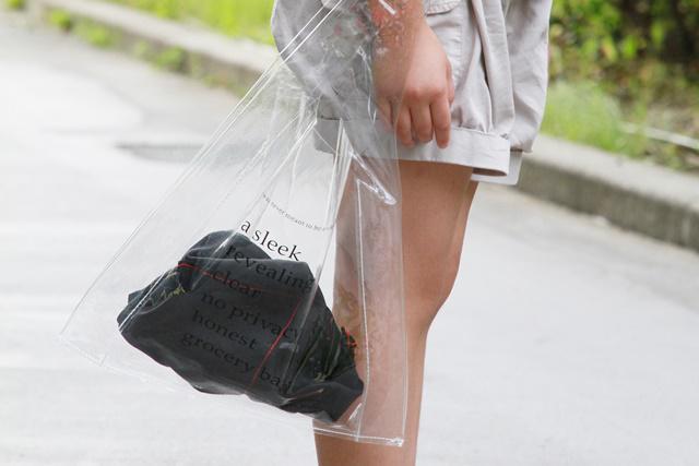 インナーバッグ カゴバッグ PVバッグ 100均 バンダナ あづま袋