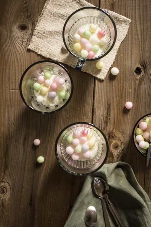 香川県の郷土和菓子「おいり」で、可愛い&楽しいトッピング♪