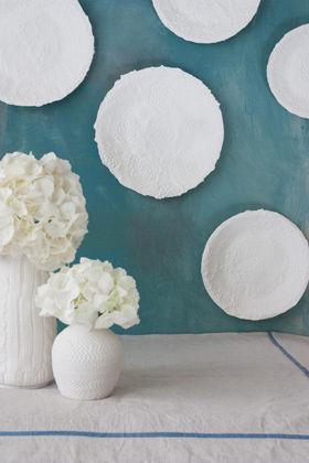 アスティエ・ド・ヴィラッド風な紙皿を作ろう