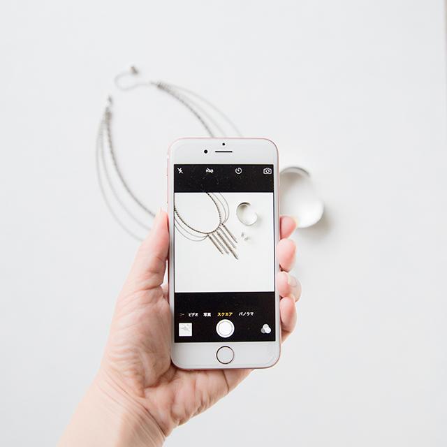 iPhoneカメラで、アクセサリーをインスタっぽくお洒落に撮るコツ♪