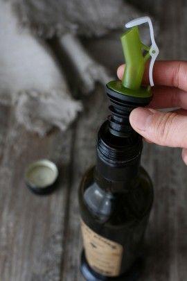 エクストラヴァージンオイルにおすすめ! ボトルキャップ