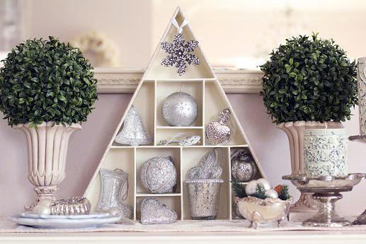 2012クリスマス・3 Francfrancのオーナメントの飾り方バリエ