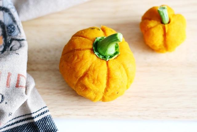 ハロウィーン カボチャ サラダ 簡単 作り方