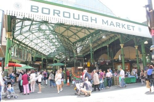 気軽に「美味しいイギリス」体験! Borough Marketバラ・マーケットへGO