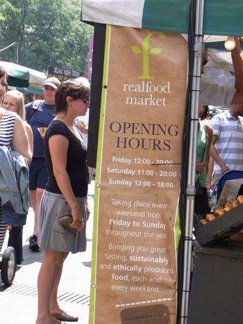 Real Food Marketで、ロンドンで人気のストリートフードを味わう♪