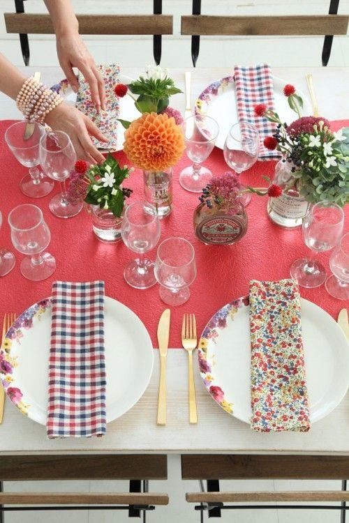 家族も喜ぶ♪ 手軽で華やか秋のテーブル演出