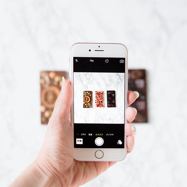 Instagramで売り上げアップ♪ 商品や作品の写真は歪みNG!