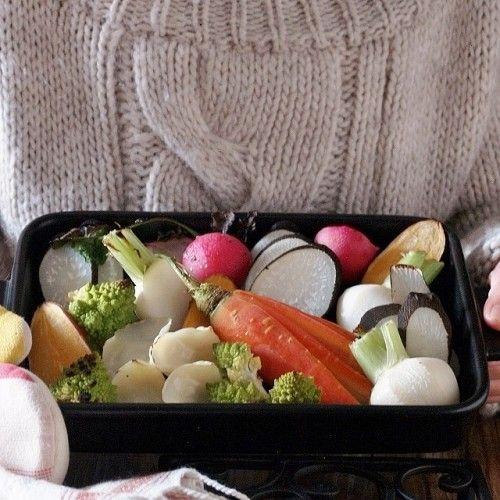 発酵パワーで温まる! ほっこり温野菜のバーニャカウダ