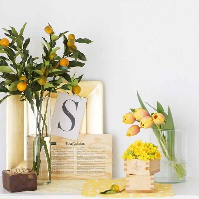 【冬の花色配色】橙&黄金色 運気アップ!節分におすすめ花あしらいのコツ~作り方つき~