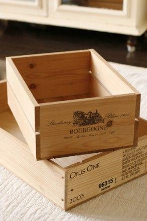 使い勝手が良いワイン箱収納