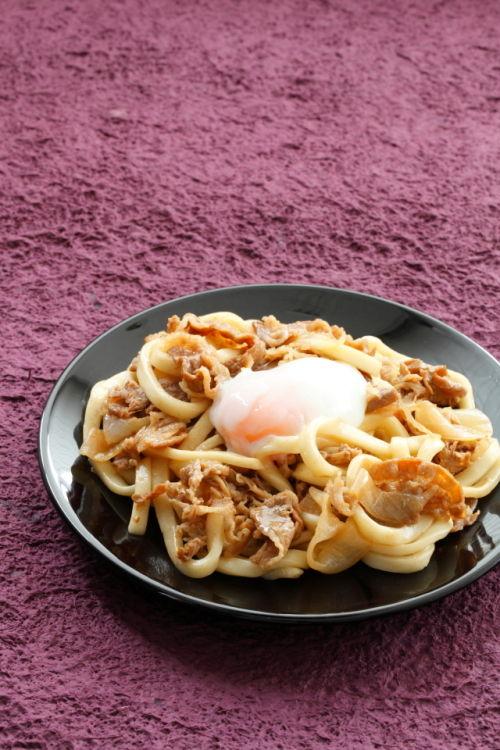 吉野家「牛丼の具」があれば・・・その① ボリューム満点★焼うどん~ざっくりレシピ@原田家の食卓