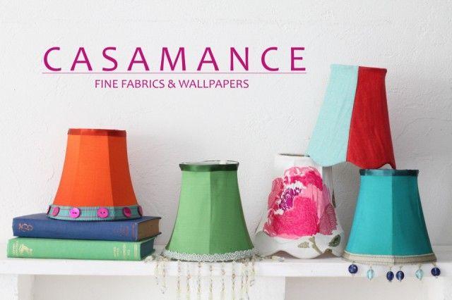 CASAMANCEのランプシェードで印象的なコーナーづくりを