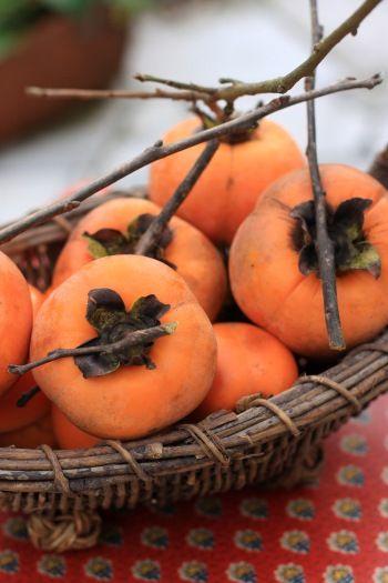柿の季節です ~柿の簡単チャツネ~