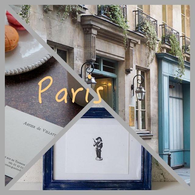 パリに学ぶ色使い~100均フレームをペイントして飾り方を再現