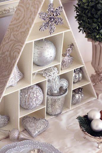 2012クリスマス・3 Francfrancのオーナメントの素敵な飾り方