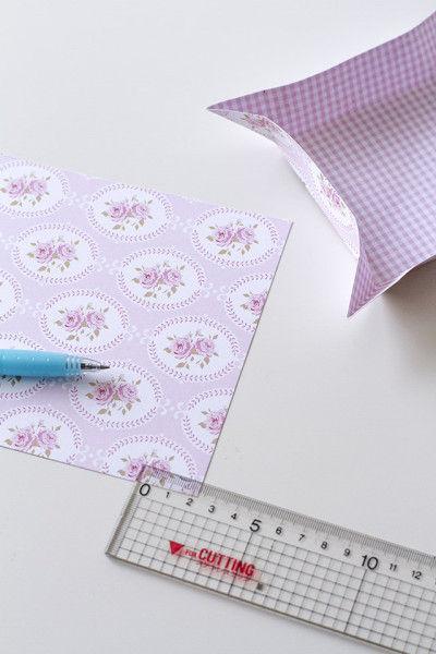 """手作り女子のDream Room""""Tildaのお部屋""""~Tildaプリントの紙で作る!簡単キュートな小物入れの作り方"""
