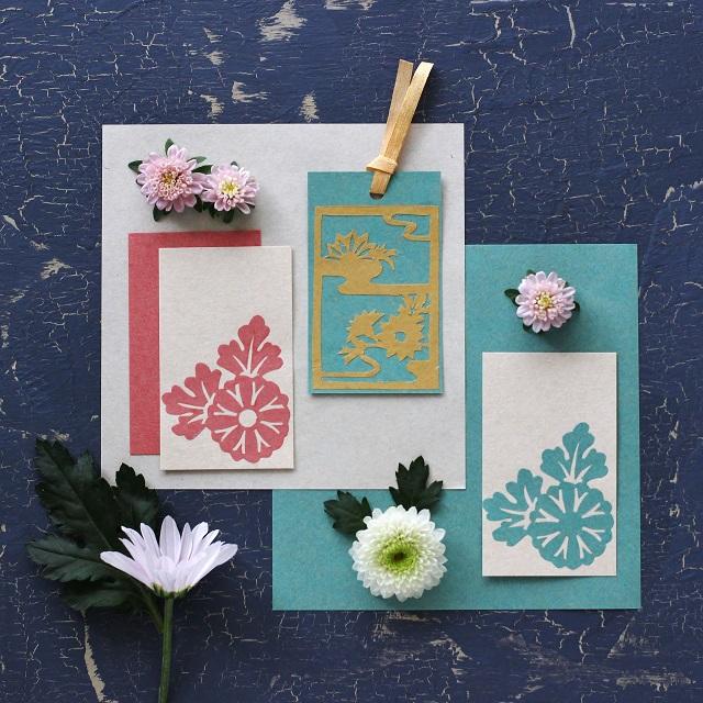 【暮らしの歳時記】 重陽の節句に菊の切り紙にチャレンジ