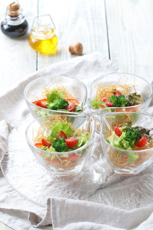 長崎郷土料理「皿うどん」 夏はさっぱり「皿うどんサラダ」で