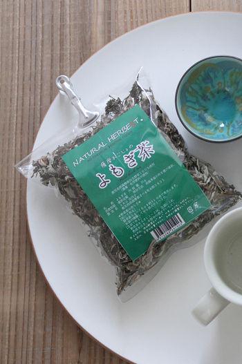 日本のいいものを再発見!額皿とよもぎ茶