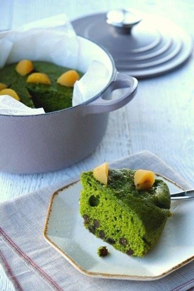 マロンをケーキにトッピングして いただきましょう!