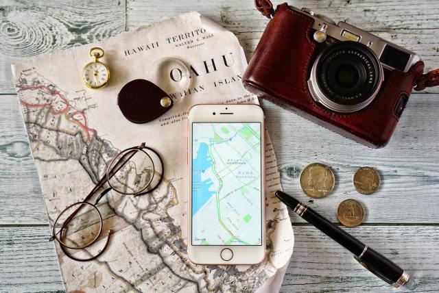 GW Googleマップ グーグル 海外 旅行
