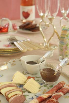 バレンタインパーティーに!お肉と合わせるチョコレートソース