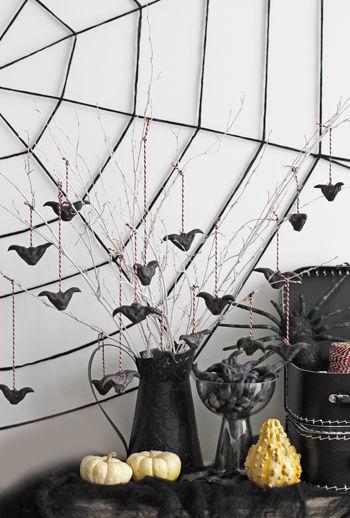 ◆ハロウィン特集№9.まるでコウモリ!?菱の実でハロウイン