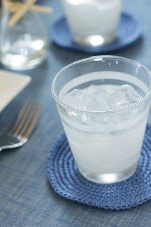 上澄みがなくなり、ふつうより濃厚になった澱に 氷をいれていただくと、またいつもと違った風味が楽しめます。