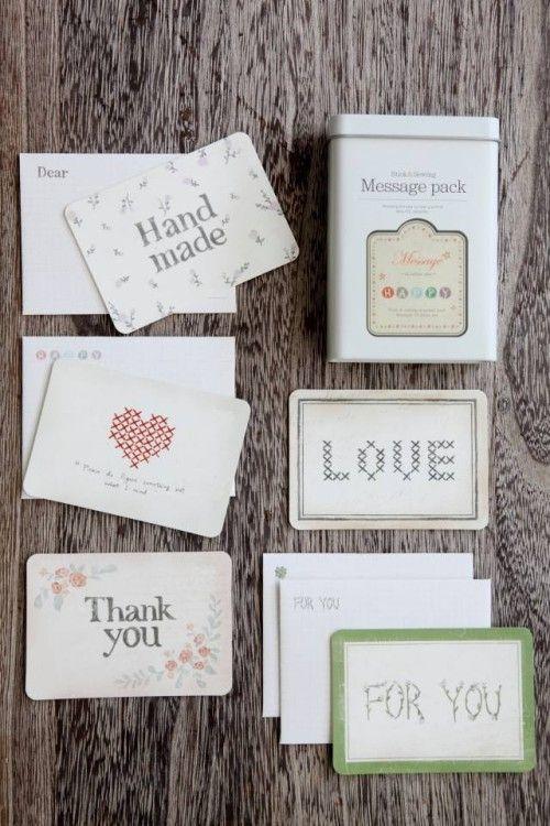 """可愛いカードにメッセージを添えて """"お礼美人""""になろう♪"""