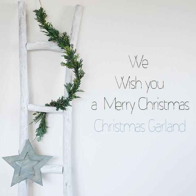 クリスマスガーランドの作り方と3WAYクリスマスデコレーション